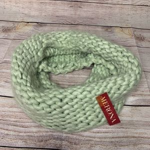 💌5/$30💌NWT Merona Mint Green Knit Infinity Scarf